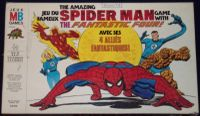 Board Game: The Amazing Spider Man Game with the Fantastic Four!