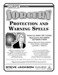 RPG Item: GURPS Sorcery: Protection and Warning Spells