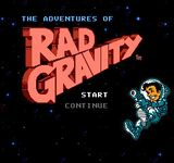 Video Game: The Adventures of Rad Gravity