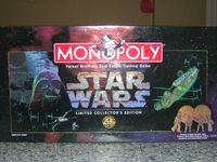Board Game: Monopoly: Star Wars Limited Collector's Edition