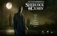 Video Game: The Testament of Sherlock Holmes