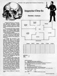 Video Game: Inspector Clew-So
