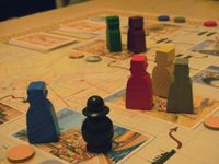 Board Game: Around the World in 80 Days