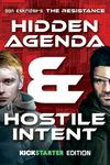 Board Game: The Resistance: Hidden Agenda & Hostile Intent