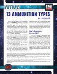RPG Item: 13 Ammunition Types