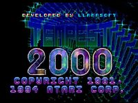 Video Game: Tempest 2000