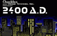 Video Game: 2400 A.D.