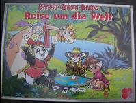 Board Game: Bambus-Bären-Bande Reise um die Welt