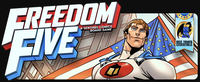 Board Game: Freedom Five: A Sentinel Comics Board Game