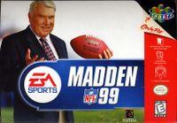 Video Game: Madden NFL 99