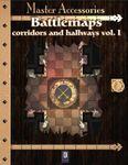 RPG Item: Battlemaps: Corridors and Hallways Vol. I