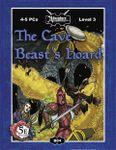 RPG Item: B04: The Cave Beast's Hoard (5E)