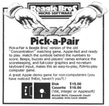 Video Game: Pick-a-Pair