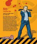 Board Game: Zombicide Survivor: Kris