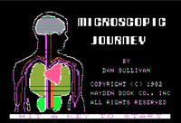 Video Game: Microscopic Journey