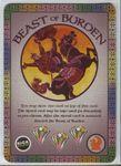 Board Game: Fantastiqa: Beast of Burden Promo Cards