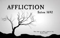 Board Game: AFFLICTION: Salem 1692