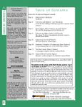 Issue: Action Check (Issue 6 - Nov 2000)
