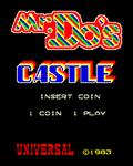 Video Game: Mr. Do!'s Castle