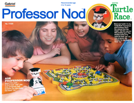 Board Game: Professor Nod and his Turtle Race