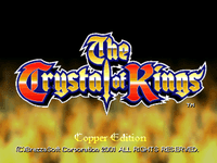 Video Game: The Crystal of Kings