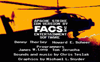 Video Game Developer: FACS inc Entertainment Software