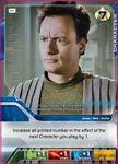 Board Game: Star Trek Deck Building Game: Human Q Promo