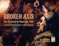 Board Game: Broken Axis: The Invasion of Romania, 1944 – A Panzer Grenadier Game