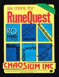 RPG: RuneQuest (1st & 2nd Editions)