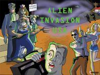 Board Game: Alien Invasion USA