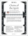 RPG Item: Chains of the Spirit