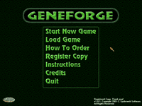Video Game: Geneforge