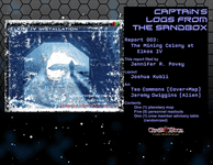 RPG Item: Captain's Logs from the Sandbox 03: The Mining Colony on Elkos IV