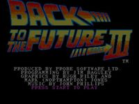 Video Game: Back to the Future Part III