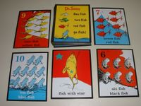 Board Game: One Fish Two Fish Red Fish Go Fish! Card Game