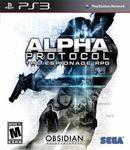 Video Game: Alpha Protocol