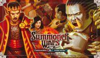 Board Game: Summoner Wars: Phoenix Elves vs Tundra Orcs