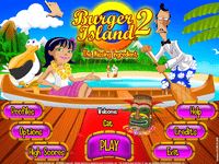 Video Game: Burger Island 2: The Missing Ingredient