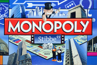 Board Game: Monopoly: Stibbe