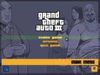 Video Game: Grand Theft Auto III