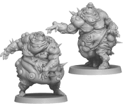 Board Game: Zombicide: Green Horde – Fatty Bursters