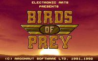 Video Game: Birds of Prey