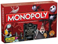Board Game: Monopoly: Nightmare Before Christmas Collector's Edition