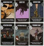 Board Game: The Agents: Sites