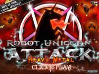 Video Game: Robot Unicorn Attack: Heavy Metal