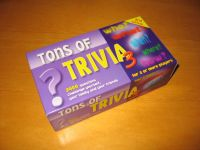Board Game: Tons of Trivia 3