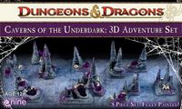 RPG Item: Caverns of the Underdark: 3D Adventure Set
