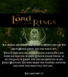 RPG Item: The Lord of the Rings