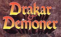 RPG: Drakar och Demoner (Expert, 4th & Chronopia 5th Editions)