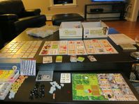 Caverna - Solo end game player board pics | VideoGameGeek